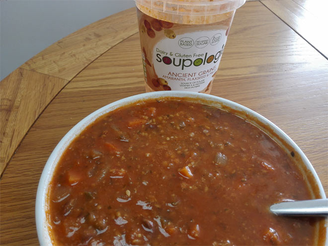 Soupologie Ancient Grains Soup (amaranth, flaxseed & millet)