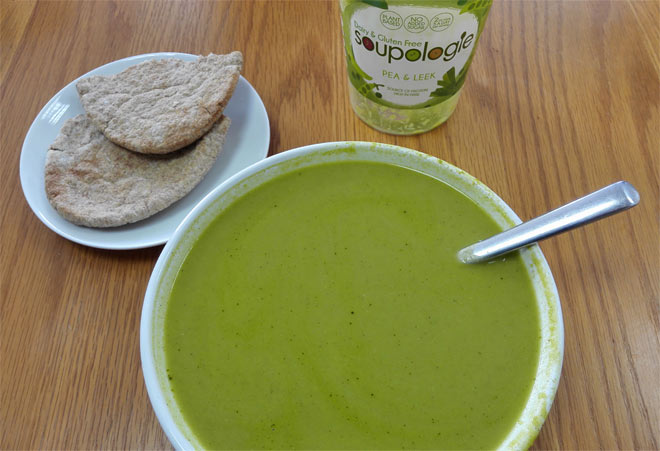 Soupologie Pea and Leek Soup