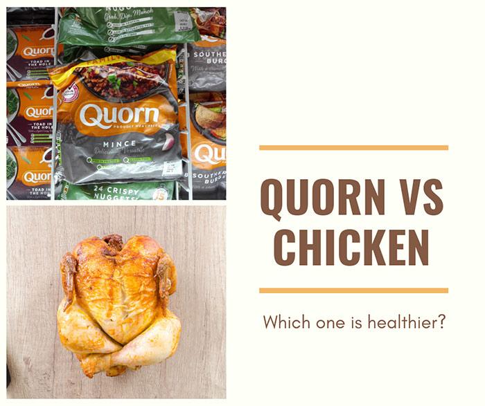 quorn vs chicken